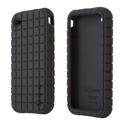 Rugged Black Cell Phone Case